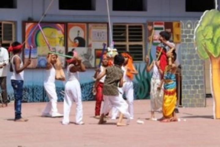 Takshasila public school- krishna jayanthi celebrations