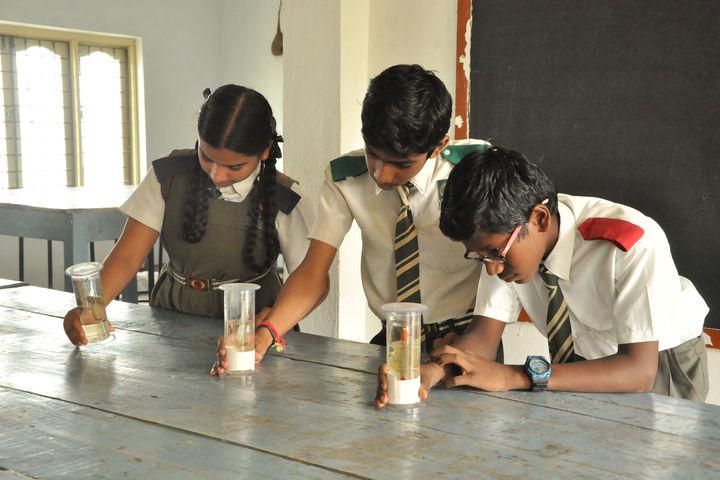 Takshasila public school- lab experiments