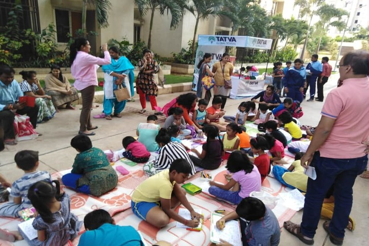Tatva Global School-Drawing Competition