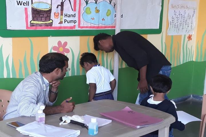 Tatva Global School-Health Camp