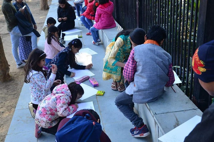 N D M C Navyug School-Drawing Competitions