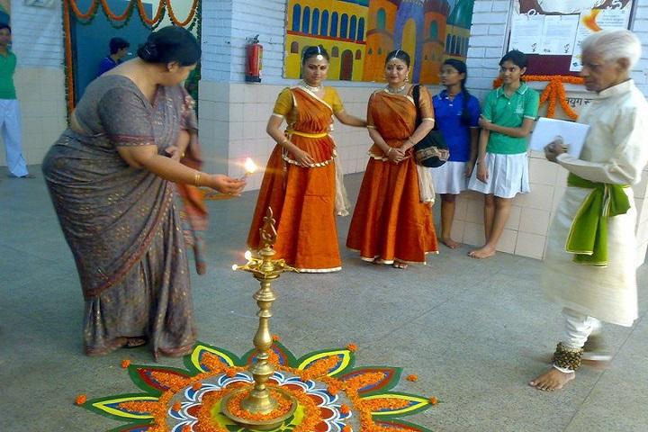 N D M C Navyug School-Lighting The Lamp