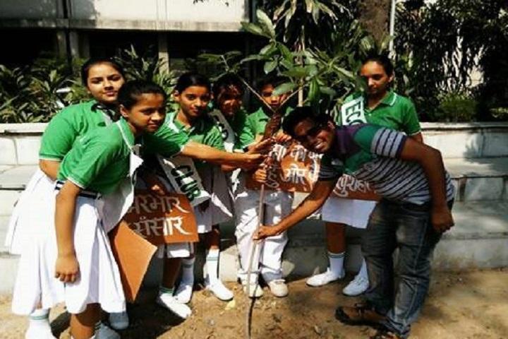 N D M C Navyug School-Plantations