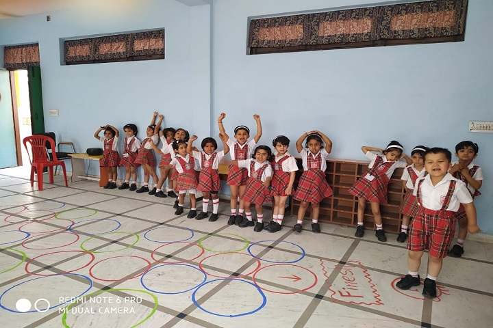 N K Bagrodia Public School-Cognitive Activity