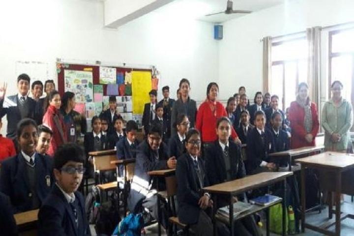 N K Bagrodia Public School-Class Room