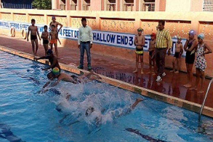 N K Bagrodia Public School-Swimming Pool