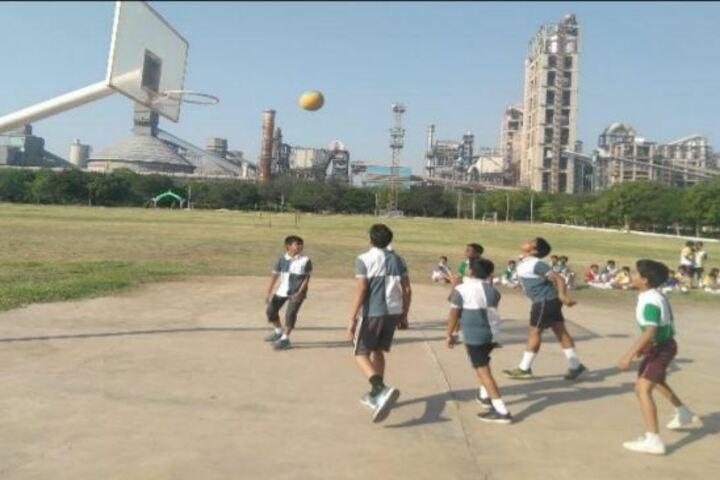 The Aditya Birla School-Basket Ball Court