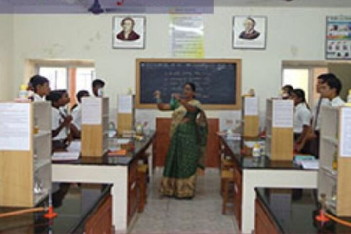 The Aditya Birla School-Chemistry Lab