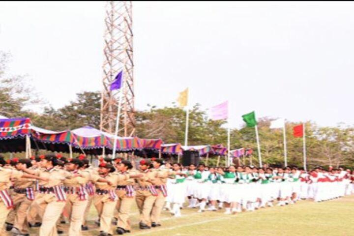 The Aditya Birla School-NCC Team