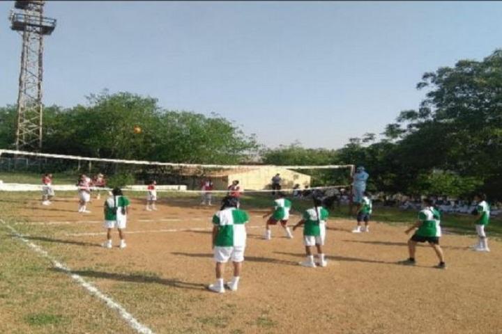 The Aditya Birla School-Throw Ball