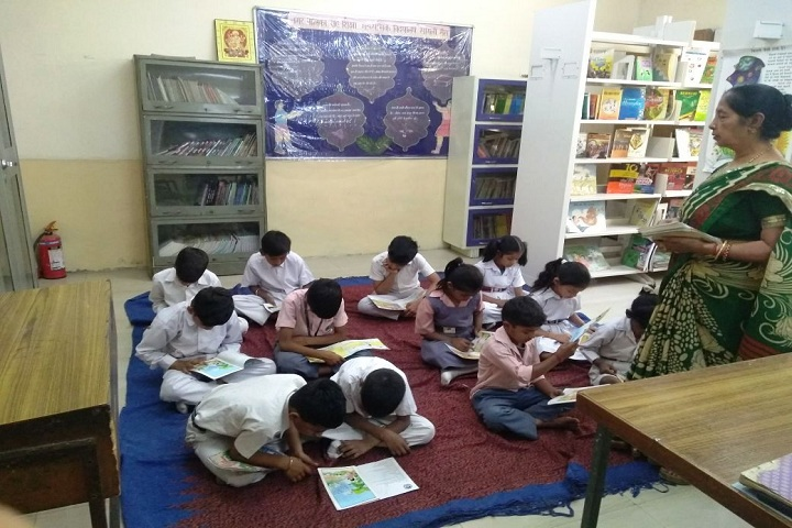 NP Co Education Secondary School-Library