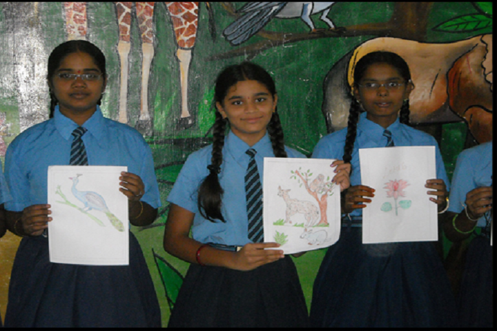 The Nandyal Public School- Drawing Competition