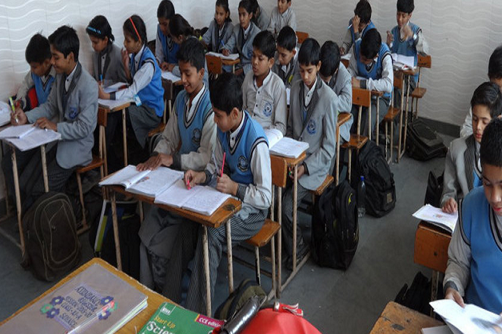 National Public School -Classroom With Students