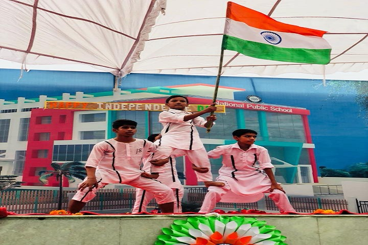 National Public School-Events Independance Day