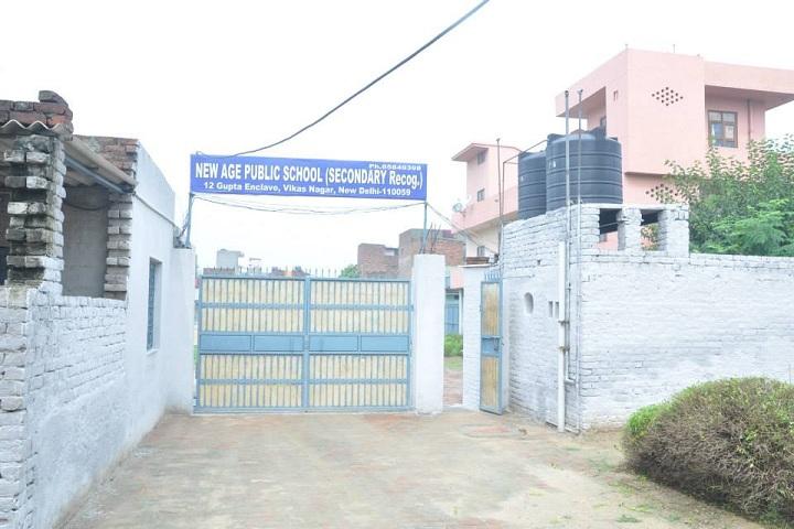 New Age Public School-Entrance-View
