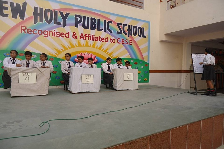 New Holy Public School-English Grammar Quiz