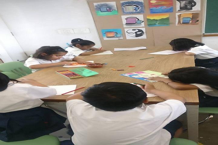 Nirmal Bhartia School-Painting class