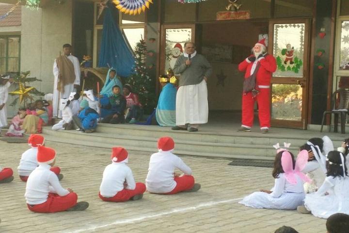 Notre Dame School-Christmas celebrations