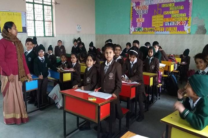 Notre Dame School-Kids classroom