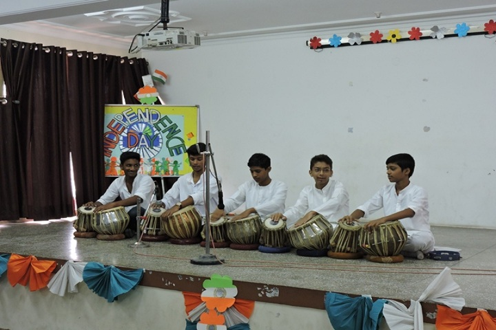 Nutan Vidya Mandir Sr Sec School-Music compitation