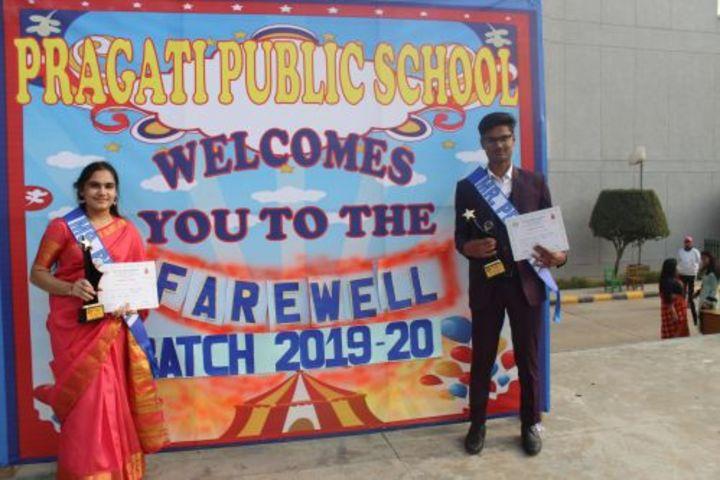 Pragati Public School-Fawell Celebration