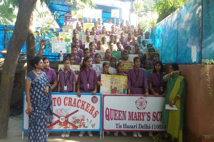 Queen Marys Girls Senior Secondary School-Anti Cracker Campaign