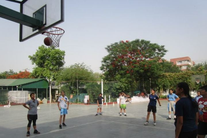 Queens Valley School-Basket Ball Court