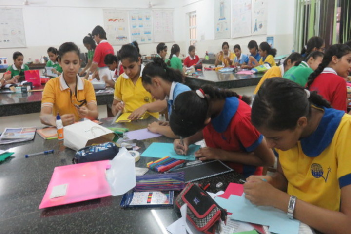 Queens Valley School-Brochure Making Competition