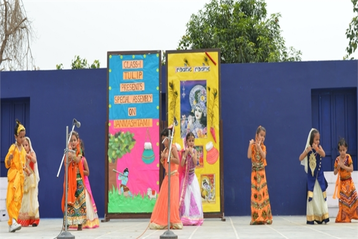 Queens Valley School-Janmastami Celebration