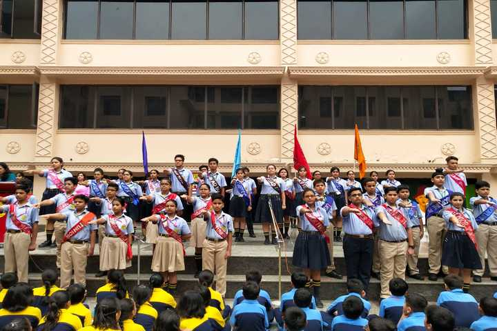 R D Rajpal Public School-Investiture Ceremony