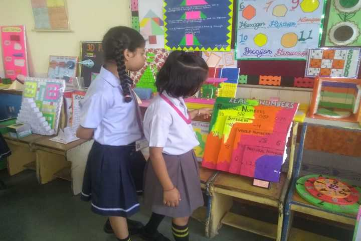 R D Rajpal Public School-Maths Week Exhibition