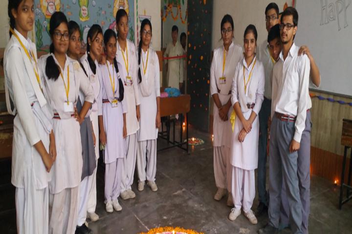 R R Geeta Bal Bharti Public School-Diwali Celebration