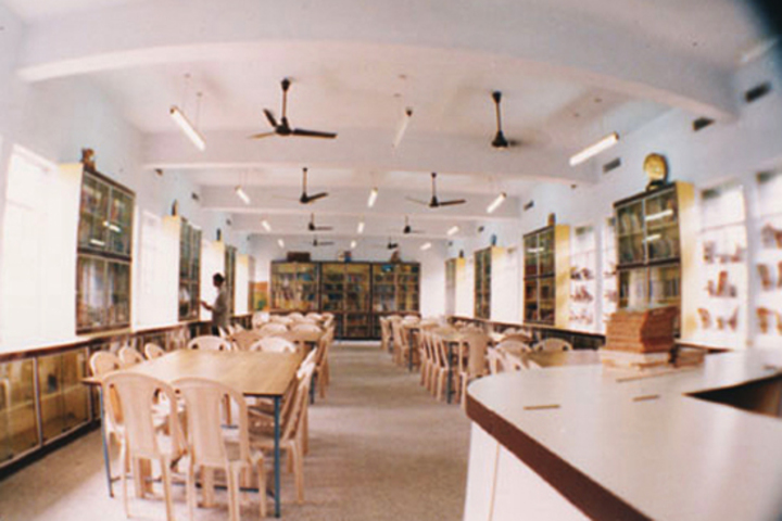 V S St Johns Higher Secondary School- Library
