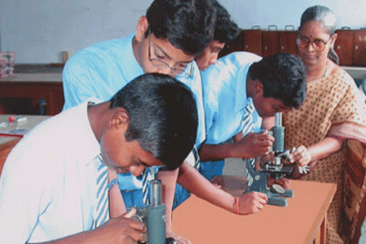 V S St Johns Higher Secondary School- Science lab
