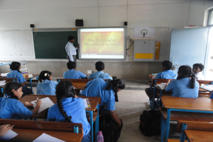 V S St Johns Higher Secondary School- Smart Classrooms