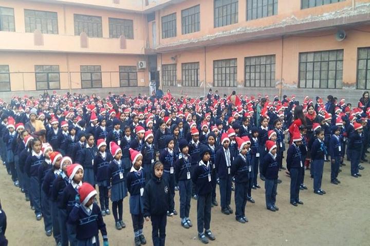 R P Memial Public School-Assembly