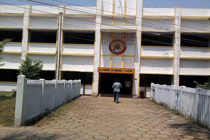 Railway Higher Secondary School-School Building