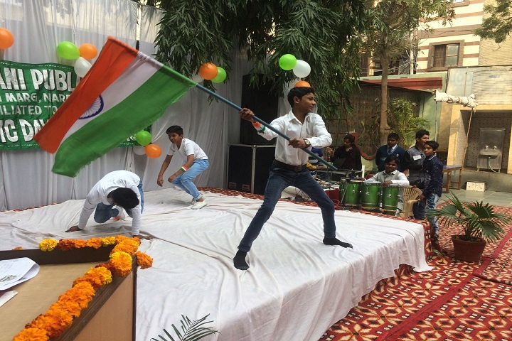 Rajdhani Public School-Republic day Celebration