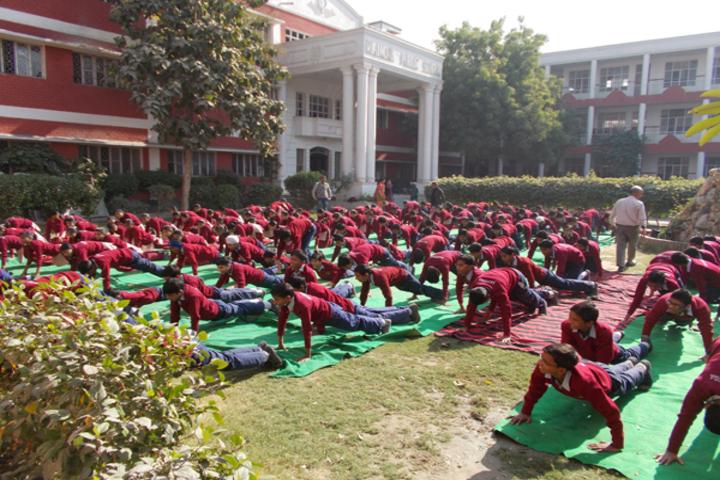 Rajindra Public School-Yoga