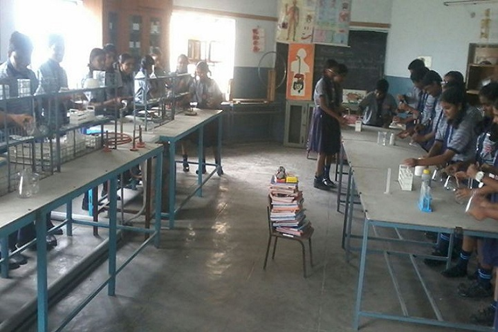 Vidyanjali Co Education English Medium High School-Chemistry Lab