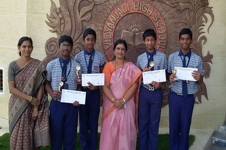 Vidyanjali Co EducationEnglish Medium High School-Competitions Winner