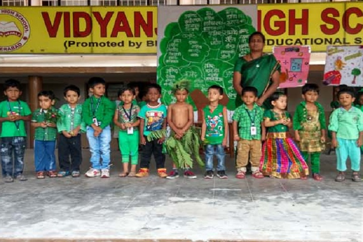 Vidyanjali Co Education English Medium High School-Green Day celebrations