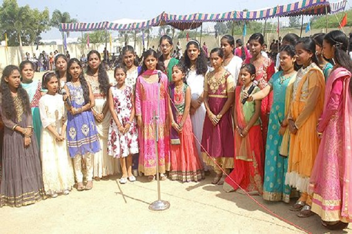 Vidyanjali Co Education English Medium High School-Group Singing