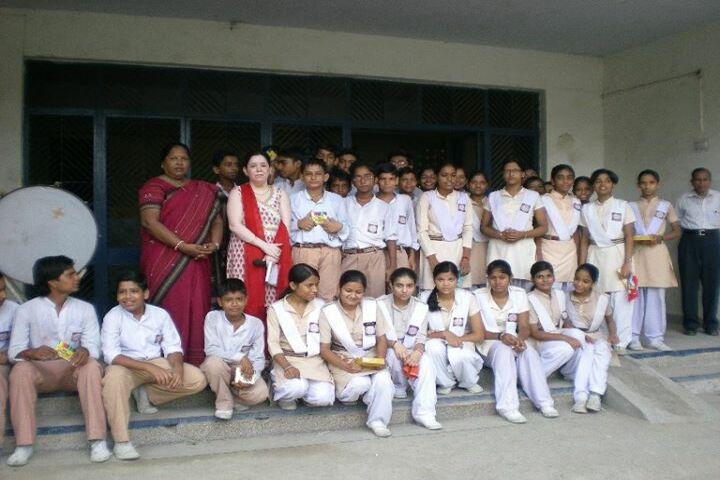 Rajkiya Pratibha Vikas Vidyalaya-Students