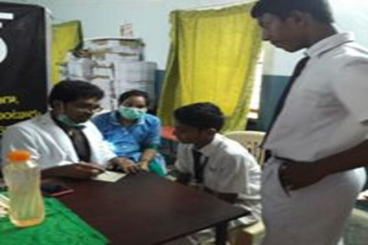 Vignan High School-Medical Checkup