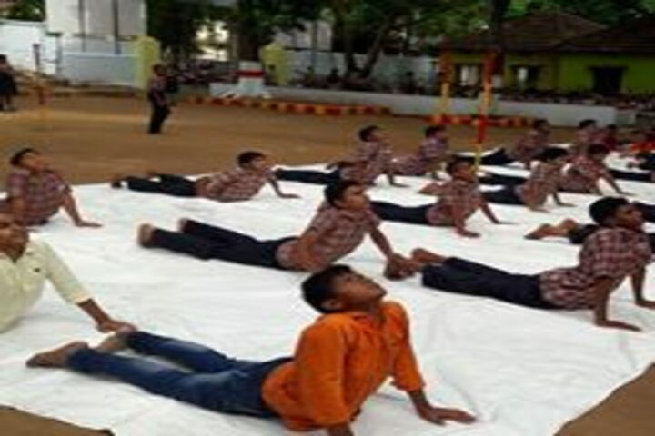 Vignan High School-Yoga