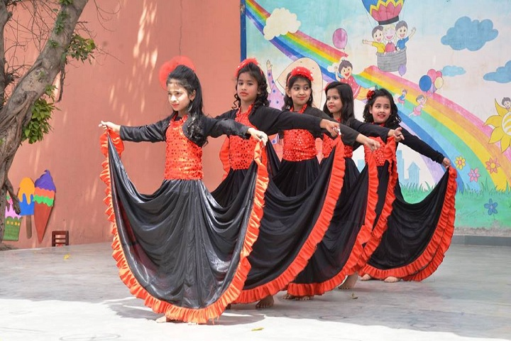Ramjas Public School-Dance