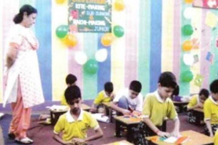 Ramjas Senior Secondary School No-1-Craft Work