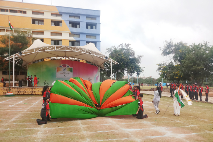 Vignan Steel City Public School-Independance Day