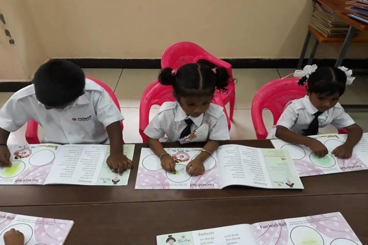 Vignan Vidyalayam High School-CraftActivity